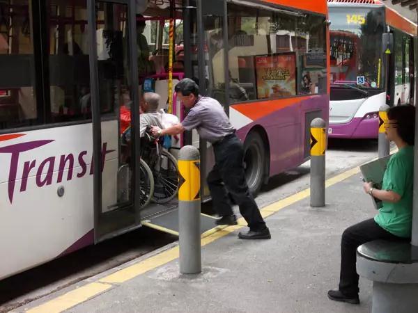 新加坡的公共汽车