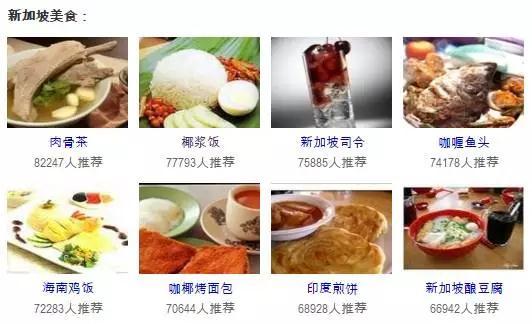 新加坡饮食习惯