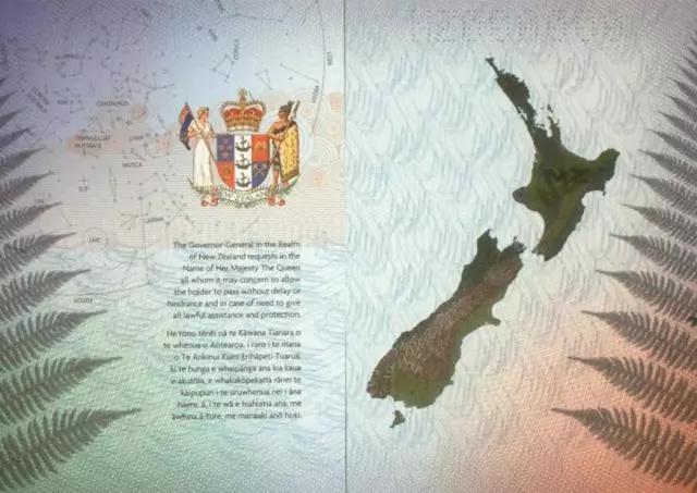 新西兰护照百科